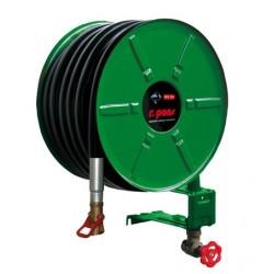 EUR5 Vert Poste d'eau pivotant tuyau Ø 33/12 lg. 30 m HUGJET