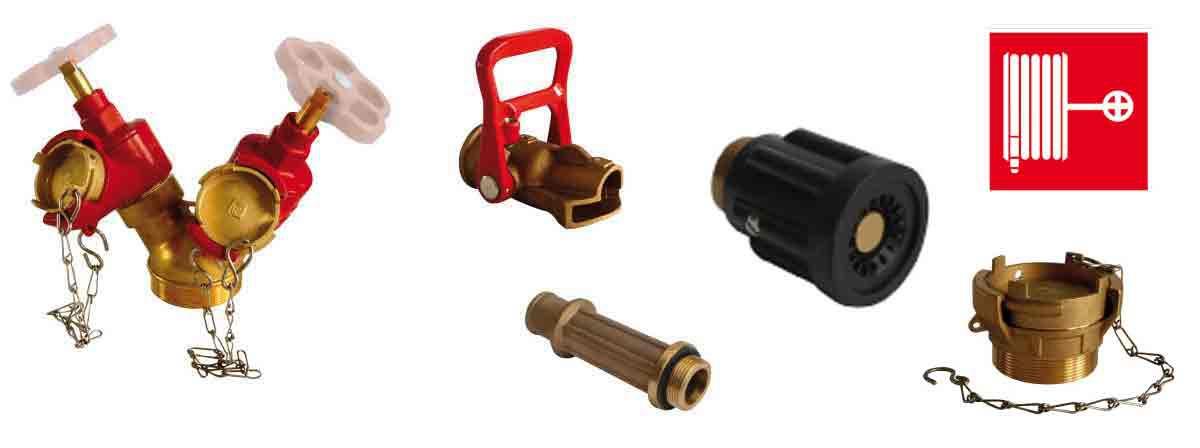 robinets et prises incendie